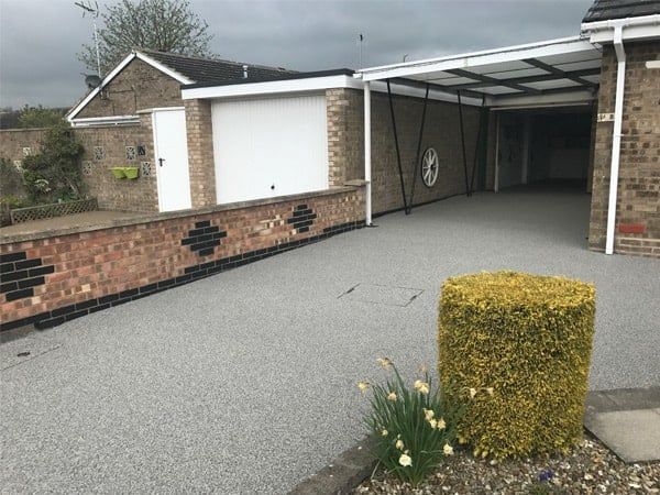 Resin Bound Installation At Domestic Property